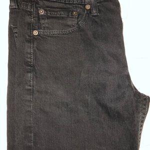 Black Slim Levi's jeans